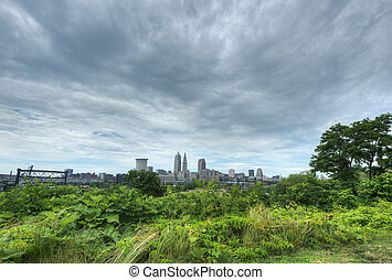 View of Cleveland, Ohio