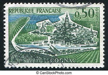 view of Cognac