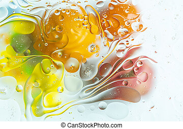 View of colorful abstract design, texture. Beautiful backgrounds.