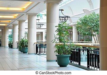 View of corner hallway