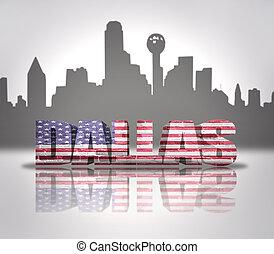 View of Dallas City