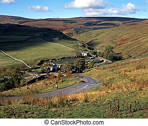 View of Darnbrook, Yorkshire Dales.