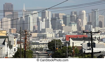 View of Downtown San Francisco from Potero Hill