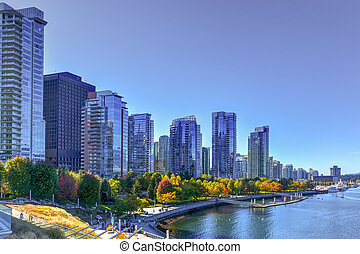 Downtown Vancouver Harbour