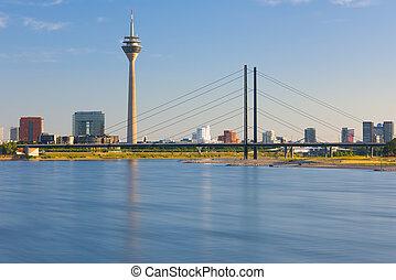 View of Dusseldorf city