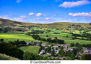 View of English countryside