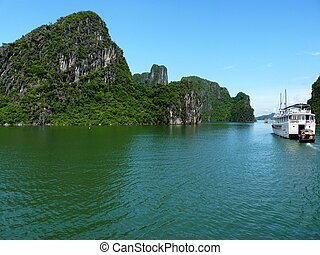 View Of Famous Halong Bay