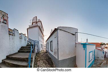 Ferragudo village houses