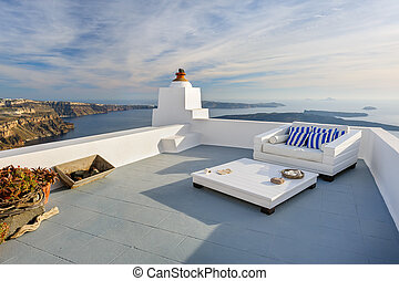 View of Firostefani, Santorini