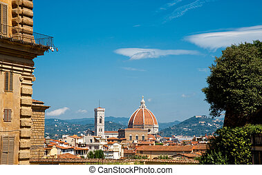 Florence - View of Florence Italy