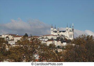 View of Fourvi?re Lyon
