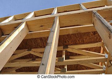 View of Framed Basement Walls