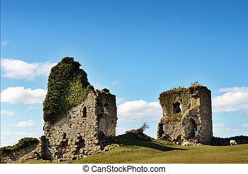 View of Gleaston Castle, Cumbria