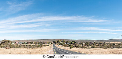 View of Griekwastad, a town in the Northern Cape Province
