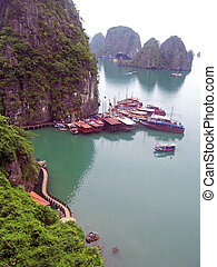 View of Halong Bay