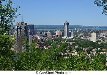 View of Hamilton.