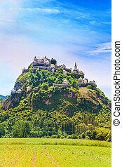 View of Hochosterwitz castle in Austria