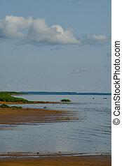 View of Ilmen Lake in the Novgorod Region