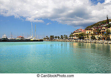 View of Island of Saint Martin