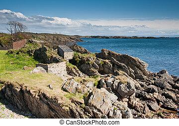 Islay coastline - View of Islay coastline