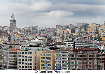 View of Istanbul in Turkey