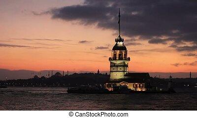 view of istanbul kizkulesi