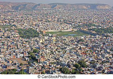 View of Jaipur, India
