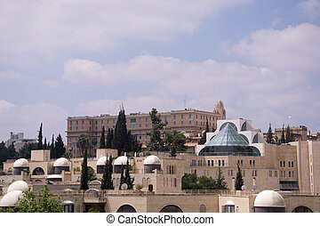 View of Jerusalem city