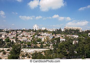 View of Jerusalem city