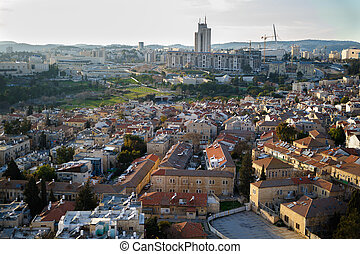 View of Jerusalem from roofs