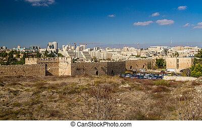 View of Jerusalem in Israel