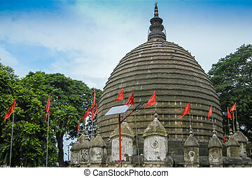 View of Kamakhya Temple, Guwahati, Assam. - The Kamakhya...