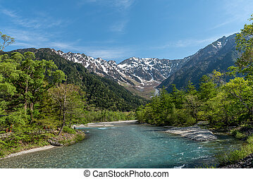 View of Kamikochi