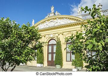 View of Kassel Orangerie