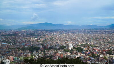 View of Kathmandu from the hill - View of Kathmandu from...