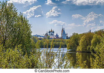 View of Kolomna, Russia - View of Kolomna churchs from ...