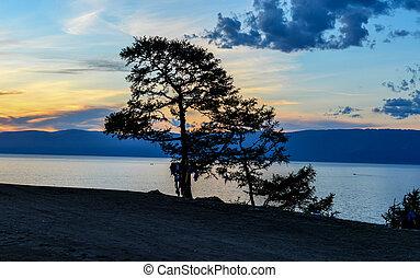 View of Lake Baikal from Olkhon Island