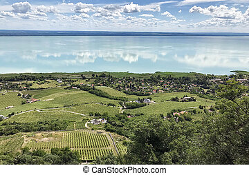 View of lake Balaton.