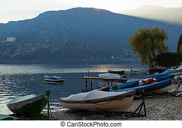View of Lake Como from Mandello del Lario