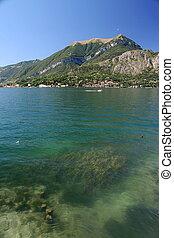 View of Lake Como, in the italian Alps -Bellagio