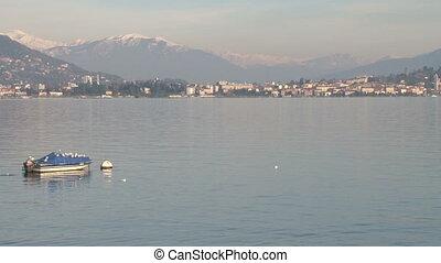 View of Lake Maggiore