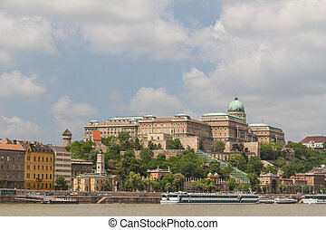 view of landmarks in Budapest