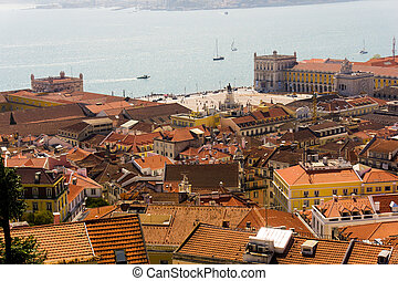 View of Lisbon