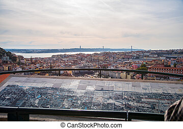 view of Lisbon rooftops