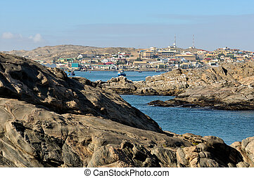 View of Luderitz in Namibia 2