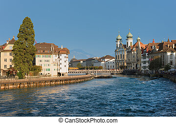 Luzern in a sunny september day