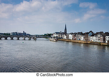View of Maastricht, Netherlands