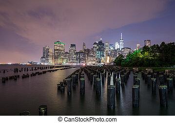 View of Manhattan in New York City