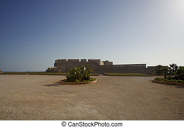 Maniace castle, Ortigia - View of Maniace castle, Ortigia -...