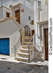 View of Martina Franca. Apulia.